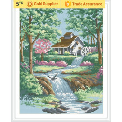 YIWU OEM GZ181 paintboy landscape 2.5mm 5D diamond painting by number