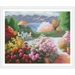 GZ221 flower diy diamond painting for home decor