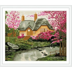 GZ238 wall art landscape diamond painting for living room decor