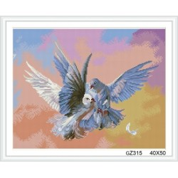 cristal diamond painting with wooden frame xinshixian paint boy brand GZ315