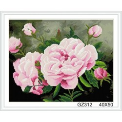 xinshixian paint boy resin flower diy diamond painting with wooden frame GZ312