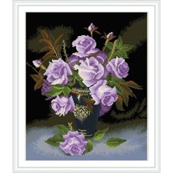 2015 new hot paint boy flower diamond painting with wooden frame GZ325