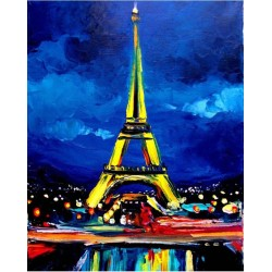 paintboy Eiffel Tower diamond painting GZ375