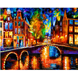 GZ377 abstract city landscape diamond painting for wall art decor