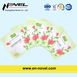 Customized Aluminum Heat Seal Bags for Facial Mask Packaging
