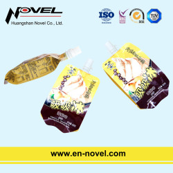 Plastic Stand Up Pouch with Spout for Jelly/Juice/Milk Packaging