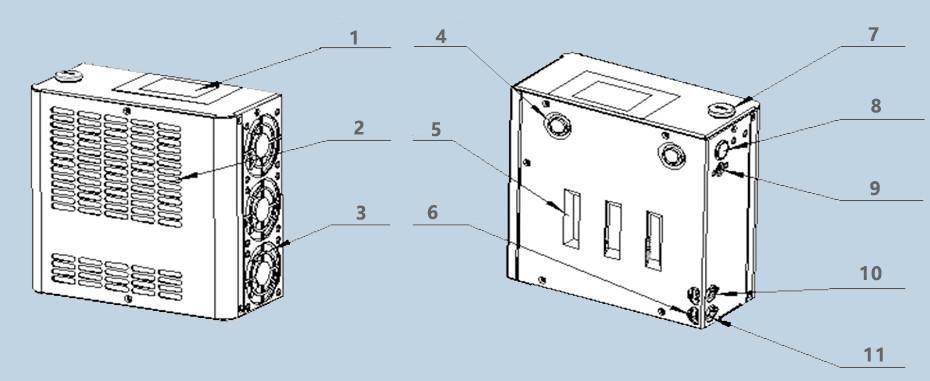 空调服结构