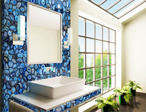 Design Blue Agate Classic Bathroom
