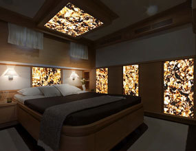 Jasper Precious Stone Bedroom Wall Design