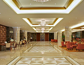 Luxury hotel Design marble waterjet  lobby flooring2