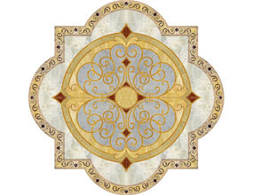 Foyer Marble Medallion