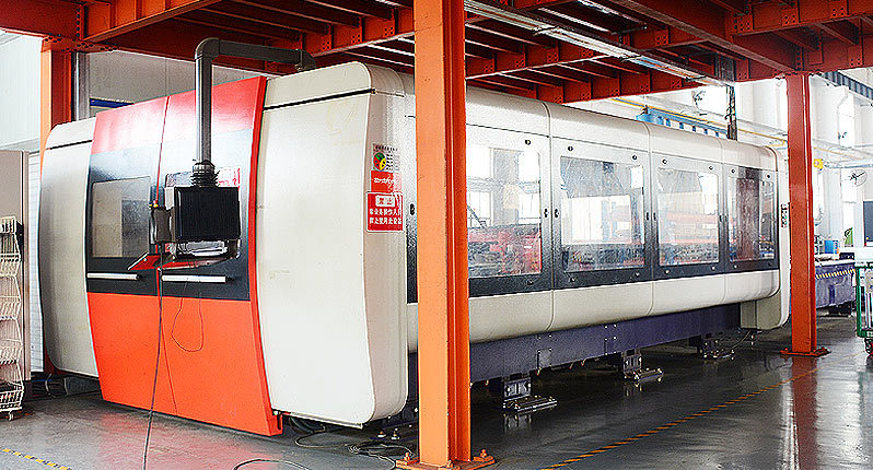 Swiss Bystronic Pro4020 High efficiency CO₂ laser cutting machine