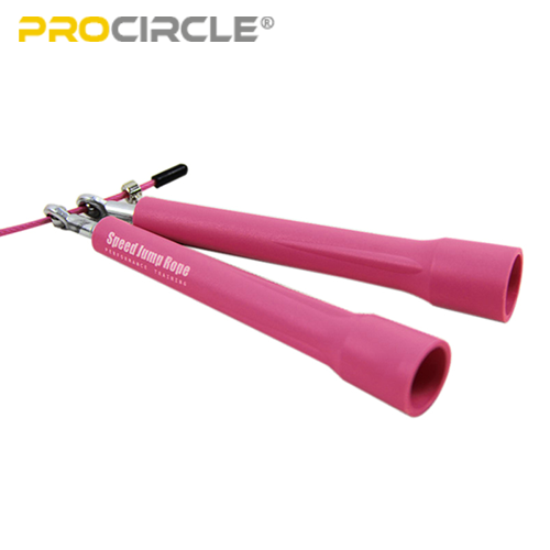 details of pink jump rope