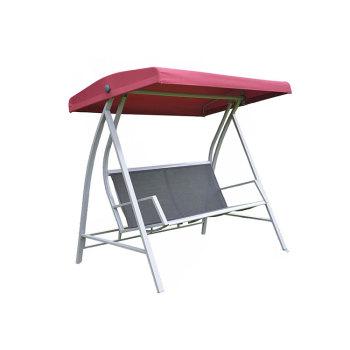 Hot Sale 3 Person Canopy Patio Garden Furniture Outdoor Metal Swing Chair -Cloudyoutdoor