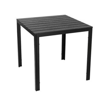 Commercial new product fold-In-Half hdpe folding table and chairs
