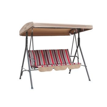Hanging Umbrella Steel Frame Garden Swing Hammock Chair-Cloudyoutdoor