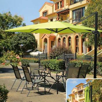 Wholesale custom commercial design restaurant parasol garden furniture 3x3-8 rome umbrella