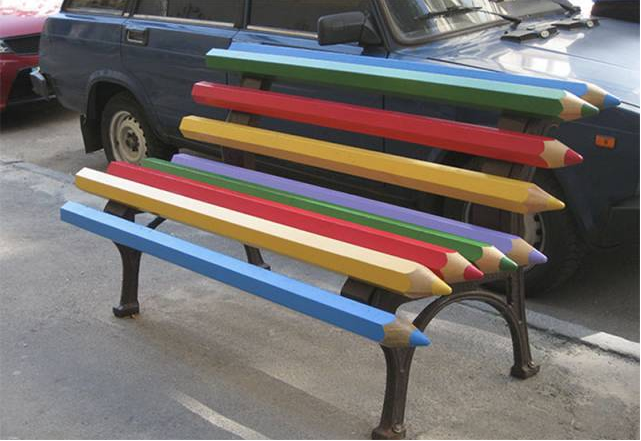 Pencil chair