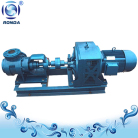 High viscosity internal gear pump with gear motor