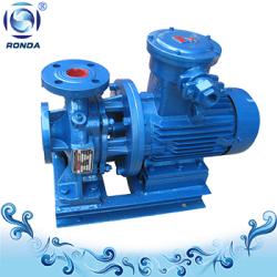 Centrifugal inline oil pump