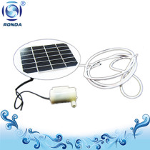 Solar Fishbowl pump USB Micro solar pump with or without solar panel