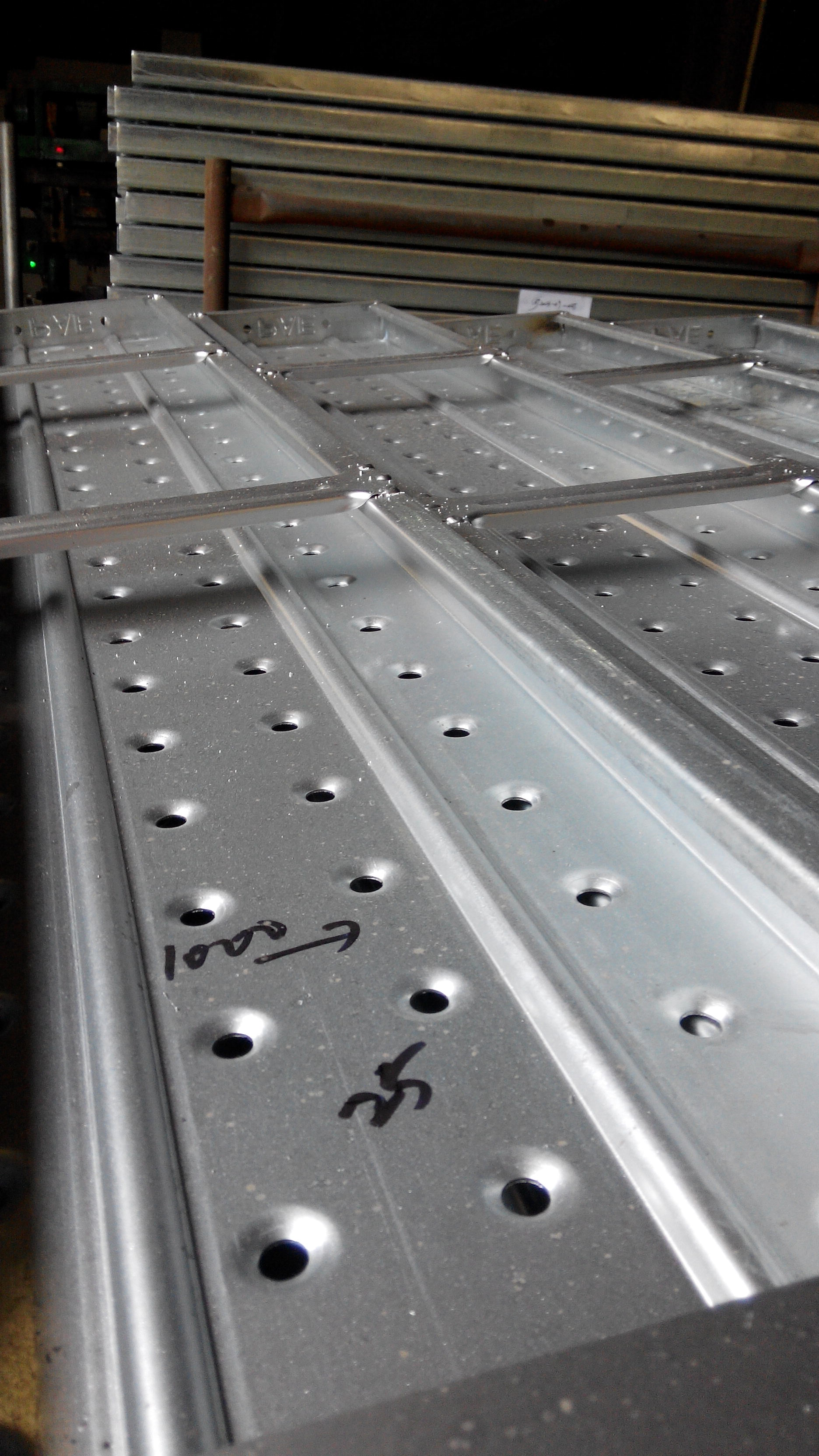 Scaffold Walk Board : Steel walk boards for construction buy consturction
