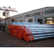 A53 GR.B seamless hot GI pipe