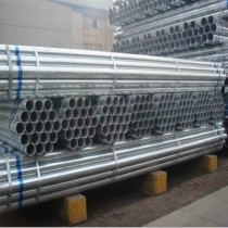 Galvanized ERW steel pipe with ASTMA53 standard used for structure