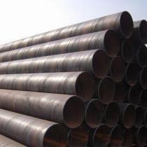 Black Spiral SAW Steel Pipes