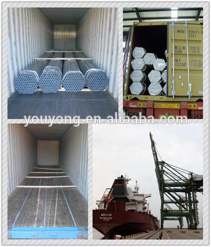 BS 1387/EN39/EN10219 ERW Hot dip galvanized scaffolding carbon welded steel pipe/tube