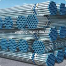 BS 1387/EN39/EN10219 ERW Hot dip galvanized scaffolding welded steel pipe/tube