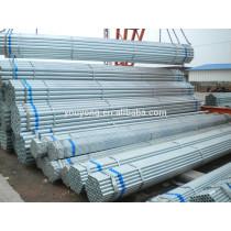 Round Erw Carbon Mild Steel Galvanized Scaffold Pipe