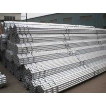Black painted/Galvanized Surface Treatment scaffolding pipe