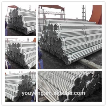 good quality galvanized steel pipe in china In stock