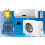 100% solar air conditioner  solar power AC solar sun energy dc  air condition