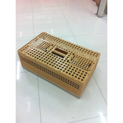 Plastic Poultry birds Transport cage ,dove cage ,Plastic Folding Pigeon Cage Transport Dove cage, bird cage chicken cages