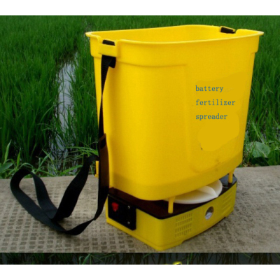 Electric Fertilizer Spreader   rechargeable   battery  Fertilizer Spreader dynamo electric Fertilizer Spreader  Portable fertilizer spreader