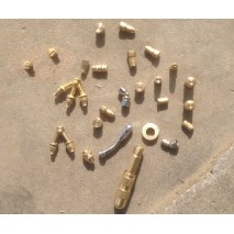 kinds of brass nozzles for sprayer copper nozzles jet nozzles for pump  fan spray tee spray metal nozzles one hole two hole 4 holes