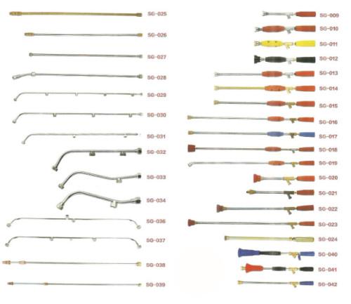 power sprayer lance sprayer metal gun stainless steel and brass lance rod bend and straight lance 2,3,4,5 holes sprayer pistols