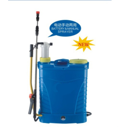 Dual System Manual and Electric Sprayer lithium battery manual sprayer 2in1 sprayer double use chargerable sprayer