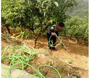 fertilizer spray jet gun liquid chemical fertilizer Dressing gun fertilizer applicator pressure liquid chemical