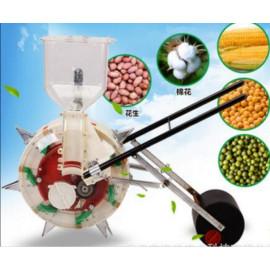 conveniently Planting Machine walking seeding machine hand push seeder seeding seed machine for corn bean peanut ect