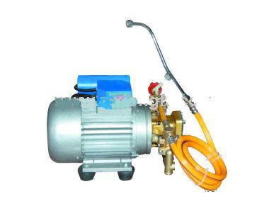 El motor eléctrico rociador