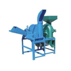 corte y la máquina trituradora