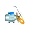 Electric motor sprayer