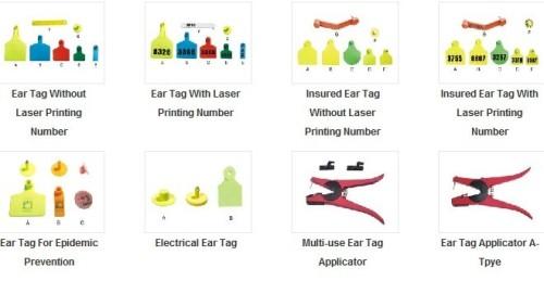 Les étiquettes d'oreille