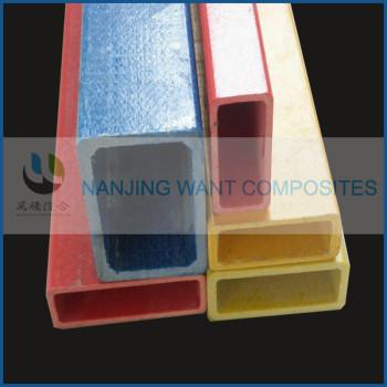 Fiberglass square tube