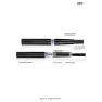 JSB VGO(III)Большая емкость жидкости электронной сигареты трех поколений