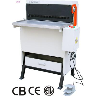 heavy duty factory use paper book punching  machine (SUPER600)