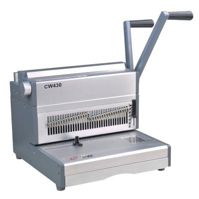 Twin  wire O binding machine 430mm 3:1 17 inch